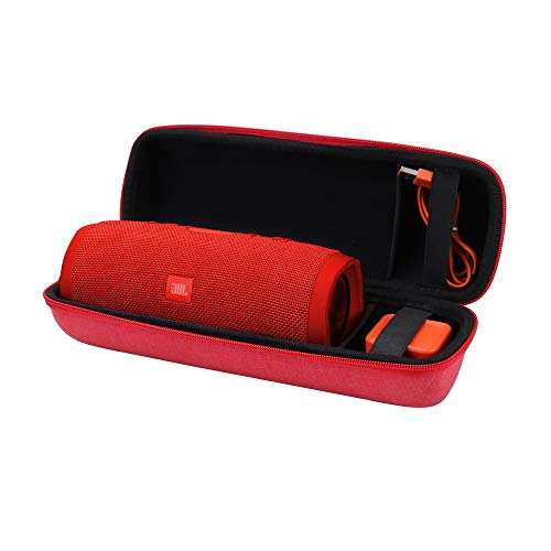 Aenllosi Hard Carrying Case for JBL Charge 3 Bluetooth Speaker (red)