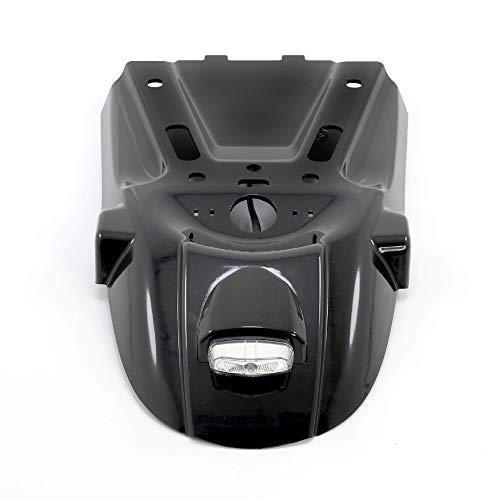 NLLeZ 1pc Motorcycle Tail Mount License Plate Bracket Rear Fender Rear Plant For B-M-W R NINE T 2014-2018 R9T (Color : Black)