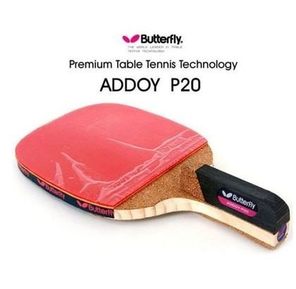 New Butterfly Addoy-P20 table tennis racket 9mm thickness pine pen-holder racket