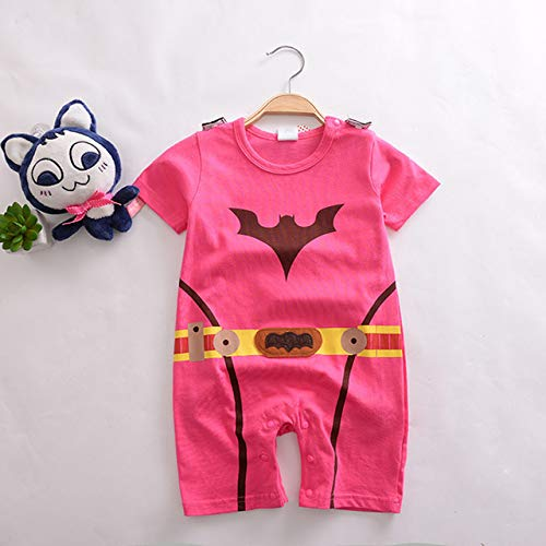 BCOGG 2018 Toddler Superhero Costumes Infantile Bébé Filles Ensembles Supergirl Batman Cosplay Barboteuse Bebe Superheroe Cape Batman Bébé Tenues XL Rose