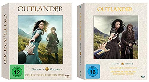 Outlander Staffel 1 Vol.1 + 1 Vol.2 (1.1+1.2) Hochwertige Collector's Editionen [DVD Set]