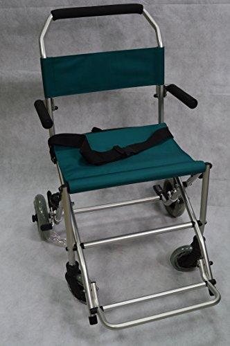 Mobilstuhl Rollstuhl Reiserollstuhl Faltbar Tasche Transportstuhl Reisestuhl Gewicht: nur ca.8,5 Kg
