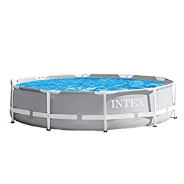 Intex Round Prism Frame Pool Set | 12ft x 30″ | 26711EH model