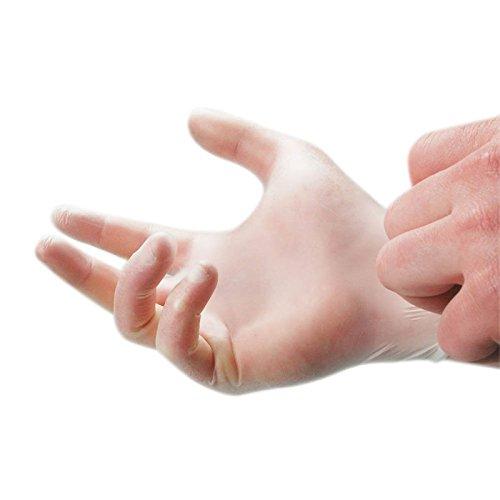 100pk en latex non poudrés Gants jetables en vinyle multi-usage – Les Mains protection Teinture capillaire, jardin, peinture et décoration, mécanicien travail propre Voiture