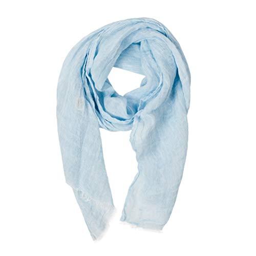 LUSIE S LINEN Sciarpa - 100% lino - Per donna e uomo – Leggera