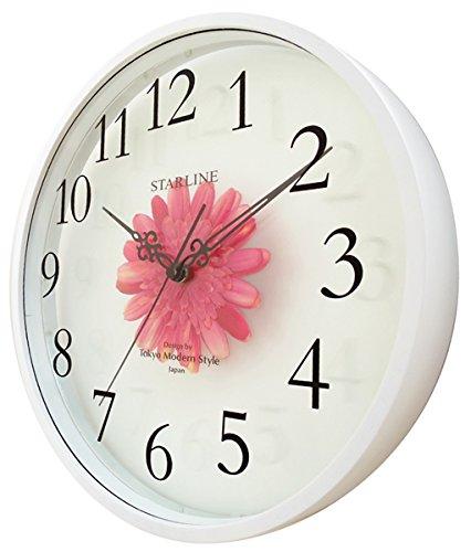 スターライン『CLOCK Art flower(SW-1191)』