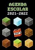 Agenda Escolar 2021-2022 Gamer: Especial Para Jugadores Con Ilustraciones | Dia Por Pagina | A5 | Ideal para Estudiantes de Primario Secundaria y Preparatoria