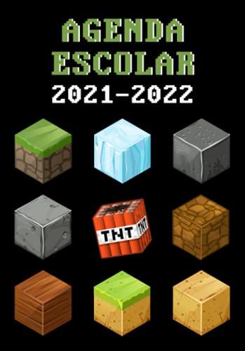 Agenda Escolar 2021-2022 Gamer: Especial Para Jugadores Con Ilustraciones   Dia Por Pagina   A5   Ideal para Estudiantes de Primario Secundaria y Preparatoria