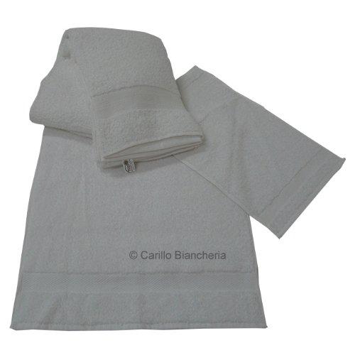 Carillo Offerta 10 Telo Doccia 10 Asciugamani 10 ospite Spugna 100 COT Hotel BB H165