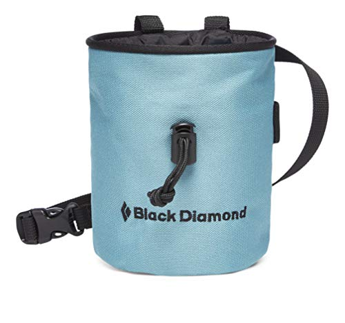 Black Diamond Mojo Chalk Bag Bolsas de magnesio para Escalada, Unisex-Adult, Caspian, S_M