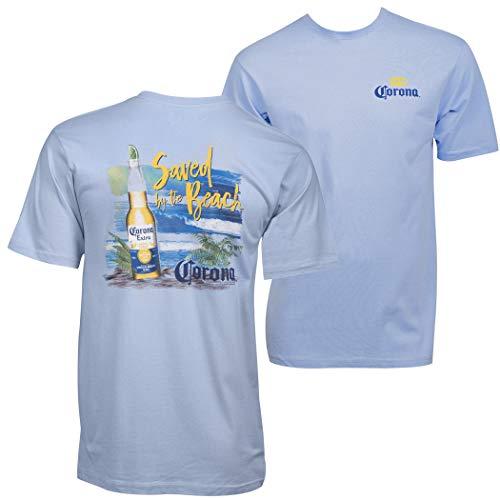 Corona Extra Saved by The Beach - Camiseta - Azul - X-Large