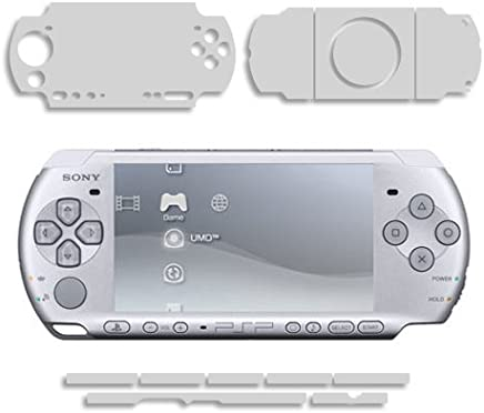 Sony PSP 3000 Screen Protector + Full Body, Skinomi® TechSkin Full Coverage Skin + Screen Protector for Sony PSP 3000 Front and Back Clear HD Film
