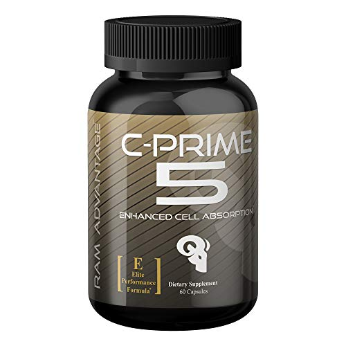 Nutrient Partitioning Agent for Lean Muscle Growth | C-Prime 5 by RAM ADVANTAGE | Optimized Glucose Disposal, Increased Muscle Tone, Firmness and Vascularity | 60 Veg caps