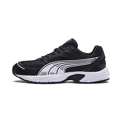 PUMA Unisex Adult Axis Sneaker, Black White, 44 EU