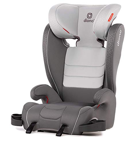 Diono Monterey XT Fix High Back Booster Seat, Group 2/3 (15 – 36 kg e Up to 160 cm in altezza), Approx. 4-12 Years