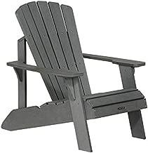 Lifetime Faux Wood Adirondack Chair, Gray - 60204