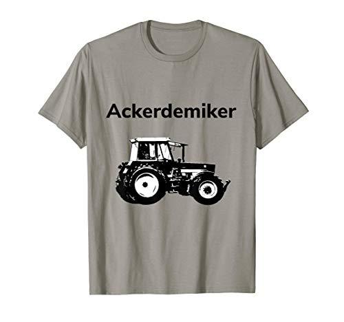 Herren Ackerdemiker T-Shirts Landwirt Bauer Lohner Trecker Geschenk T-Shirt