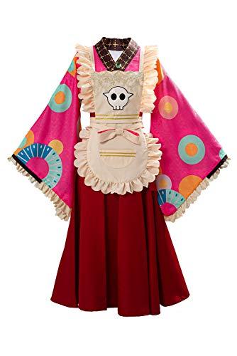 Bilicos Toilet Hanako Nene Yashiro Kimono Dienstmädchenkleid Cosplay Kostüm Damen XS
