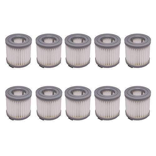 NICERE Partes de aspirador reemplazos limpieza casera 10 unids filtro HEPA ajuste para JIMMY JV51 JV53 JV83 portátil inalámbrico aspirador HEPA Accesorios ⭐