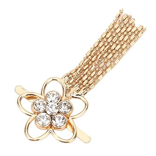 Clip de zapato borla de diamantes de imitación de cristal exquisito duradero para tacones bolsa de ropa artesanía decoración de boda artesanía de costura