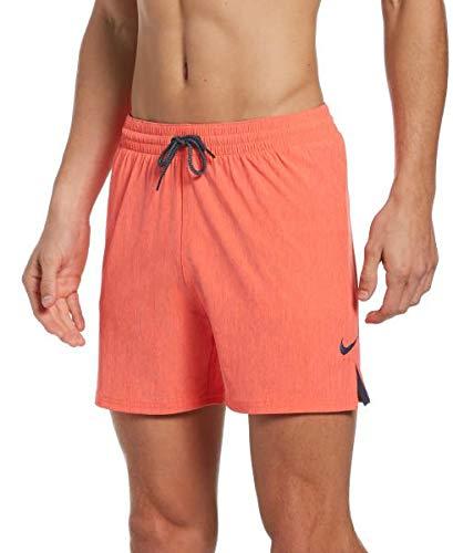 Nike Volley - Costume da Bagno da Uomo, Uomo, Costume da Bagno, NESSA480-631, Cremisi Intenso, S