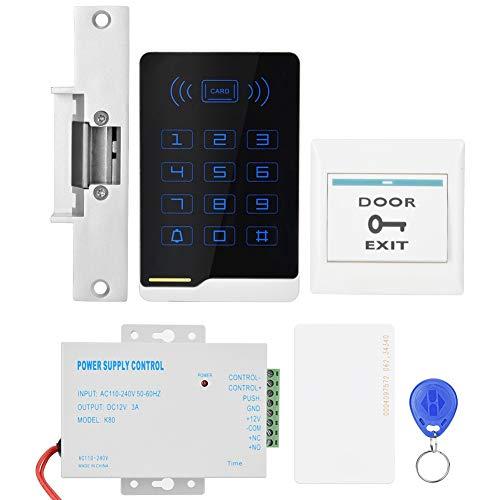Clasken - Kit de control de acceso de puerta, tarjeta de acceso al rendimiento estable del sistema de control de acceso, metal duradero para empresas de oficina