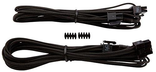 Corsair CP-8920165 EPS12V/ATX12V - Cable (macho/macho, RMi series, RMx series, SF series, tipo 4 PSU), Negro (Black)