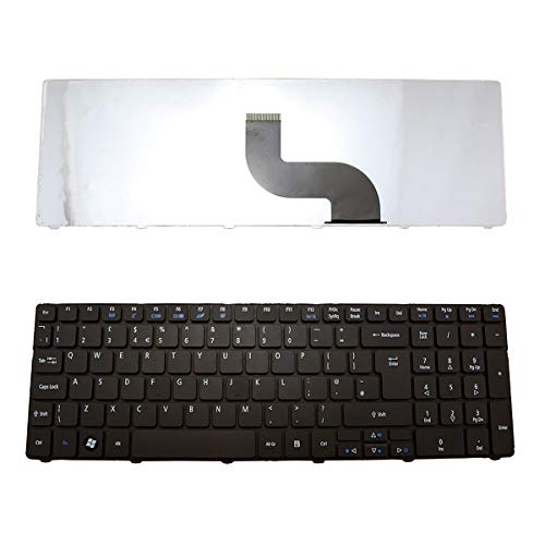 Laptop Keyboard Replacement for Acer Aspire 5253 5336 5551 5552 5733 5733z 5733z-4851 5742 5750 7551 5810 Series UK Layout