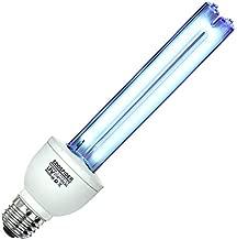 U/V/C Light Bulb 253.7nm wavelength Lamp E26 25w 110v Covers up to 400sq ft.