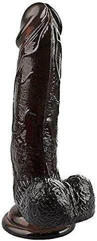 HONGMEI Ṣex Toys Ðíl'dɔ Vǐbr'atǐ'ng Machine Man and woman Black Sqūirtīng Ðịdọ for Ṣex Realistic Release Stress Realistic Machine Thrusting Dî'ldɔ Toy for Women Big Huge Stick Toy with Vivid Veins Text
