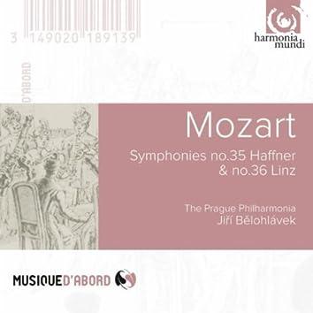 "Mozart: Symphonies n°35 ""Haffner"" & n°36 ""Linz"""