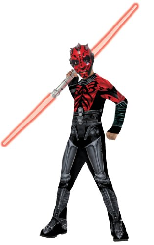 Rubie's Classic Darth Maul Mechanical Medium Star Wars Costume Kids Movie Fancy Dress