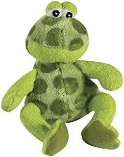 MPP Croakers Small Dog Toys Plush Green Frogs Ribbit Croaking Sound Chip Choose Size