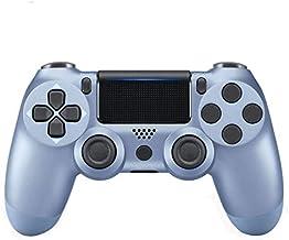 OUYAWEI CE Draadloze PS4 Controller Bluetooth Gamepad Joystick Voor PlayStation 4 Game Console PC Stoom Titanium blue