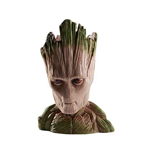 thematys® Baby Groot Maceta - Figura de acción para Plantas y bolígrafos de la película clásica - Perfecto como Regalo - Soy Groot (H)