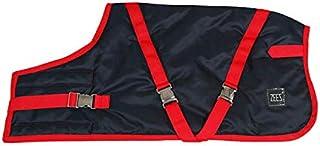 ZEEZ Supreme Dog Coat Size 26 (66cm), Navy Stone/Red