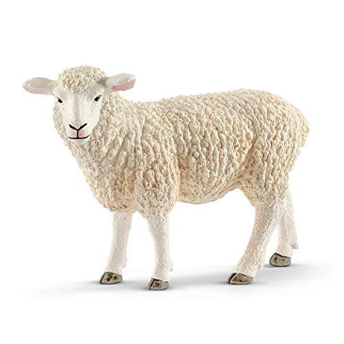 SCHLEICH Farm World  Animal Figurine  Farm Toys for Boys and Girls 3-8 Years Old  Sheep