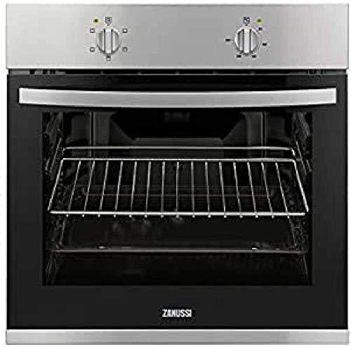 Zanussi ZOB10411XU - Horno (Medio, Horno eléctrico, 56 L, 56 L, 50-250 °C, 2450 W)