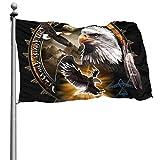 N/A Indianer-Adler, langlebig, Garten-Flaggen, saisonale Heimdekoration für drinnen und draußen, 1,2 x 1,8 m