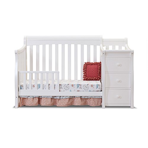 Sorelle Tuscany Toddler Rail, White