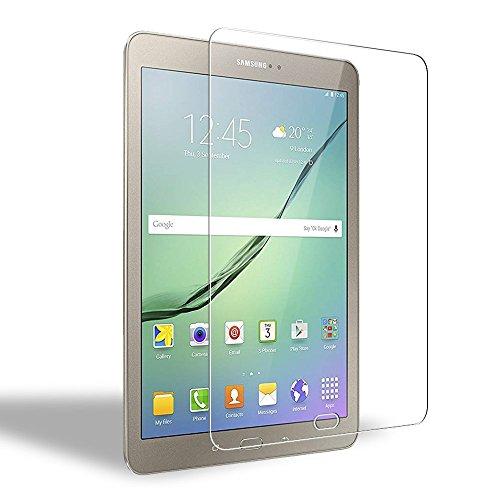 WEOFUN Galaxy Tab S3/S2 9.7 Protector de Pantalla, Cristal Templado para Samsung Galaxy Tab S3/S2 9.7'' Vidrio Templado [0.33mm, 9H, Alta Definicion]