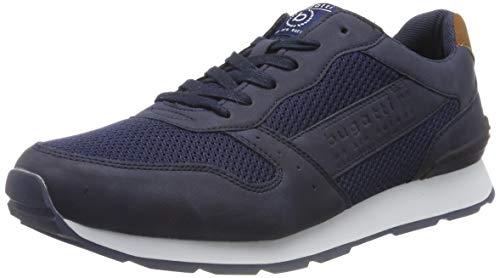bugatti Herren 323308055900  Niedrig Sneaker,  Blau,  42 EU