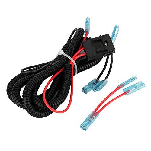 Encendedor de cigarrillos para motocicleta, cable USB para motocicleta, arnés de cableado...