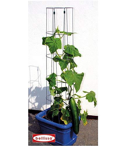 1 Stück - Gurken-Turm und Rankhilfe für Gurkenpflanzen und Gemüse – Rank-Gitter für Topfpflanzen
