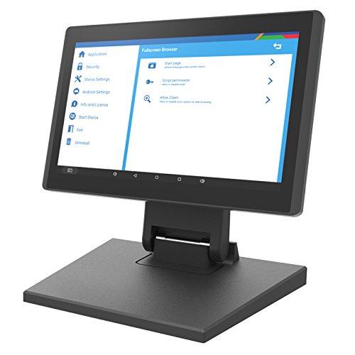 10.Inch GLORYSTAR Jarvis Commercial POS Touch Kiosk Tablet Free Kiosk App (FIX028 Tablet Mount)