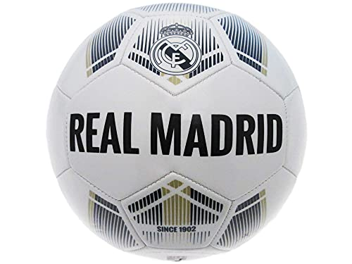 Real Madrid, Balón de Futbol Grande, Talla 5 Producto Oficial