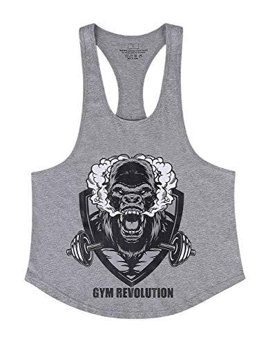 Cabeen Homme Debardeurs De Sport Musculation Gym Sport Outdoor Tank Top Stringer Summer Vest