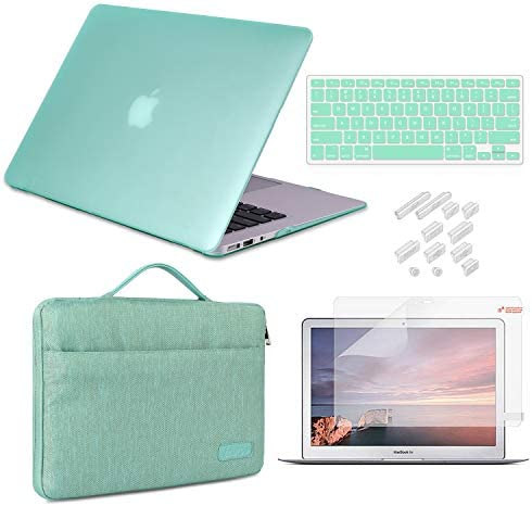 MacBook Air 13 Inch Case 2010 2017 Release Model A1369 A1466 Bundle 5 in 1 iCasso Hard Plastic product image