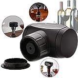 Gcroet Automática Conservante del Vino, Vino Ahorro Bomba de vacío automático Lleno de Vino eléctrico sellador al vacío, Vino Botella de vacío eléctrica Stoppers- Accesorios Vino Regalos