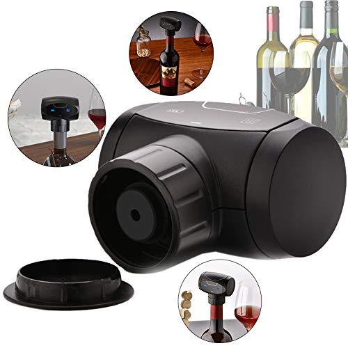 Gcroet Automatische Wein Erhalter, Wein-Retter-Vakuumpumpe voll automatischer elektrischer Wein Vakuumierer, elektrischer Wein Vacuum Bottle Stoppers- Weinzubehör Geschenke